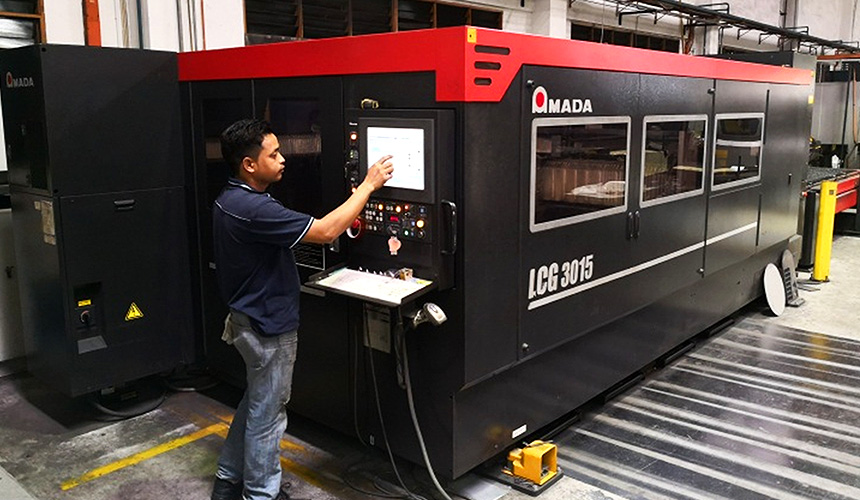 CO² Laser Cutting System